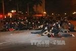 Diễn tập đám đông 10.000 người hoảng loạn trước Nhà hát Lớn