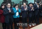 Chủ tịch Quốc hội dâng hương, tưởng niệm Bác Hồ