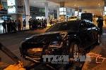 Xe Audi đâm 11 người bị thương tại sân bay Tân Sơn Nhất