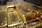 Giá vàng chạm 'đáy' một tháng