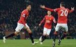 Manchester United vươn lên thứ 3 trên bảng xếp hạng