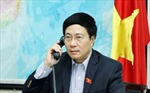 Bộ trưởng Ngoại giao Phạm Bình Minh điện đàm với Ngoại trưởng Hoa Kỳ