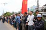 Chùm ảnh Lễ truy điệu đồng chí Nguyễn Bá Thanh