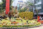 Thành phố Hồ Chí Minh rực rỡ sắc màu đường hoa