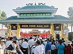 Hơn 10.000 lượt người viếng Đền thờ Bác Hồ ở Hậu Giang