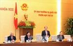 Ủy ban Thường vụ Quốc hội họp phiên đầu tiên năm Ất Mùi