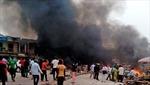 Đánh bom liên tiếp ở Nigeria, hàng chục người thiệt mạng