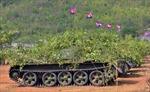 Campuchia khánh thành Xưởng sửa chữa xe tăng do Việt Nam viện trợ