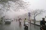 Không khí lạnh ảnh hưởng, trời mưa lạnh