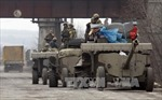 Ukraine tuyên bố đang hoàn tất rút vũ khí hạng nặng