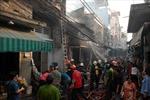 Hỏa hoạn thiêu rụi nhà cấp 4, dân hốt hoảng tháo chạy