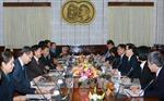 Đoàn đại biểu Ban Đối ngoại Trung ương Đảng Lào thăm Việt Nam