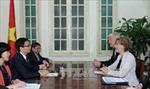 Phó Thủ tướng Vũ Đức Đam tiếp Bộ trưởng Giáo dục Đan mạch