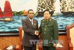 Đại tướng Phùng Quang Thanh tiếp Cục trưởng Cục Cơ yếu - Bộ Nội vụ Cuba