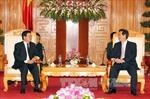 Lãnh đạo Nhà nước tiếp đoàn đại biểu Ban đối ngoại Trung ương Lào