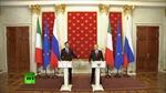 Italy thảo luận với Nga về mối quan hệ Nga-EU