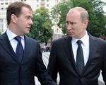 Ông Putin tự giảm lương mình và Thủ tướng