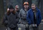 Cứu hộ Nga đến Donetsk giúp gia đình thợ mỏ bị nạn