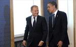 Tổng thống Mỹ hội đàm với Chủ tịch EC về tình hình Ukraine