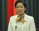 Trao quyết định của Bộ Chính trị điều động đồng chí Ngô Thị Doãn Thanh