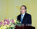 Chủ tịch Mặt trận Tổ quốc Việt Nam tiếp Tổng Giám đốc Samsung Việt Nam