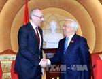 Phó Chủ tịch QH Uông Chu Lưu tiếp Bộ trưởng Tư pháp Slovakia