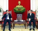 Đồng chí Lê Hồng Anh tiếp Phó Tổng thống Venezuela