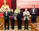 Trao quyết định của Bộ Chính trị về nhân sự tỉnh Vĩnh Phúc
