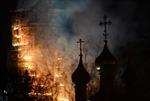 Cháy lớn tu viện chôn cất nhiều nhân vật xuất chúng Nga