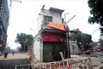 Cưỡng chế nhà 8 B Lê Trực để thi công đường Trần Phú-Kim Mã