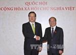 Chủ tịch Quốc hội Nguyễn Sinh Hùng hội đàm với Chủ tịch Quốc hội Hàn Quốc