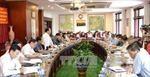 Đồng chí Ngô Văn Dụ làm việc với lãnh đạo tỉnh Đắk Nông