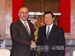 Bộ trưởng Ngoại giao Thổ Nhĩ Kỳ thăm chính thức Việt Nam
