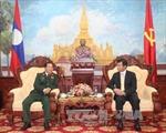Bộ Quốc phòng chúc mừng Ngày thành lập Đảng Nhân dân Cách mạng Lào