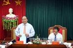 Phó Thủ tướng Nguyễn Xuân Phúc làm việc tại Tuyên Quang