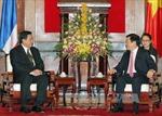Chủ tịch nước Trương Tấn Sang tiếp Ngoại trưởng Thái Lan