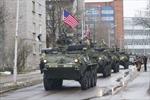 Xe tăng NATO diễu hành rầm rộ từ Estonia về Đức