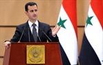 Ông Assad ủng hộ Nga tìm giải pháp cho khủng hoảng Syria