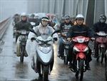 Không khí lạnh gây mưa rét, gió mạnh tại Bắc Bộ
