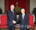 Tổng Bí thư Nguyễn Phú Trọng tiếp tân Đại sứ Nga