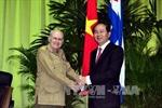 Bộ trưởng Trần Đại Quang thăm chính thức Cuba
