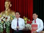 Trao Quyết định của Bộ Chính trị về nhân sự tỉnh Vĩnh Long