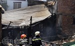 TPHCM : Hỏa hoạn thiêu rụi căn nhà 2 tầng