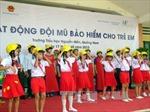Hà Nội: Học sinh phải đội mũ bảo hiểm khi đi xe đạp điện