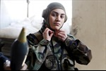 Những nữ quân nhân khả ái và dũng cảm của Syria