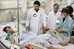 Nhiều bệnh nhân vụ sập giàn giáo chuyển viện tuyến trên