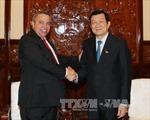 Chủ tịch nước tiếp Tổng thư ký Trung tâm những người lao động Cuba