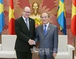 Chủ tịch Quốc hội Thụy Điển thăm chính thức Việt Nam
