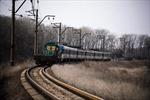 Chuyến tàu màu xanh đến Lugansk