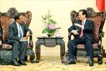 Thủ tướng Nguyễn Tấn Dũng tiếp Cố vấn An ninh Quốc gia Ấn Độ